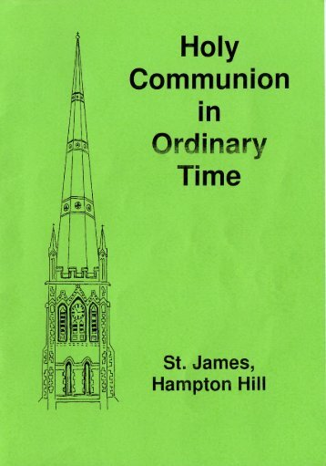 Holy Communion in Time