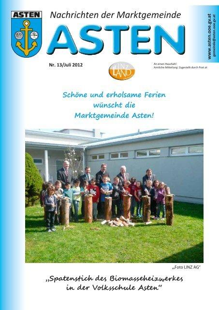 Gemeindezeitung April 2019 - Marktgemeinde Asten - Land