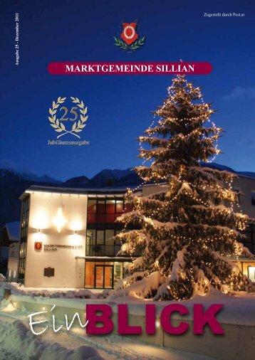 Ausgabe 25 - Dezember 2011 - Marktgemeinde Sillian