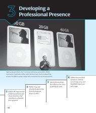 3Developing a Professional Presence - Resource Sites