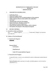 templates - Resource Sites - Metropolitan Community College