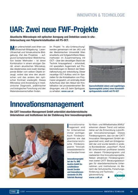 Standortmarketing Innovationspolitik Clusterland - TMG