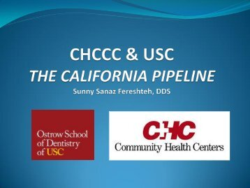 What is the California Pipeline Project?