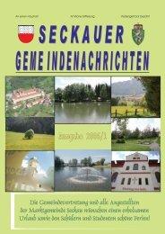 Ausgabe 2006/1 - Marktgemeinde Seckau