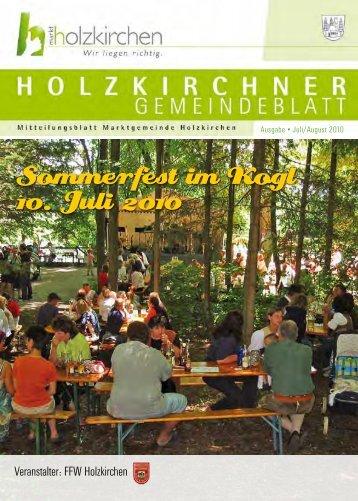 Juli/August 2010 - Holzkirchen