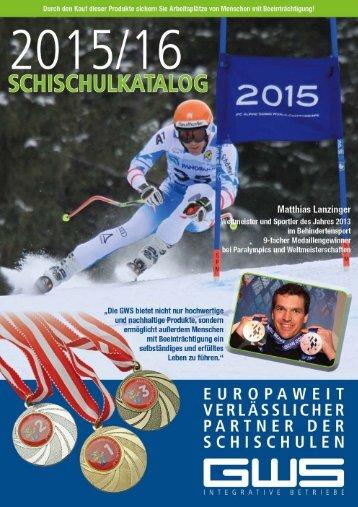 Schi Schul Katalog 2015-2016