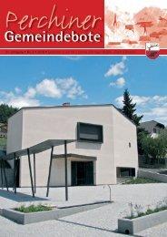 Perchiner Gemeindebote Nr. 03/2010 (3,40 MB