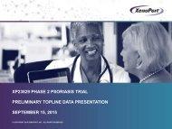 PRELIMINARY TOPLINE DATA PRESENTATION SEPTEMBER 15 2015