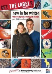 GetTheLabel.com Winter Book 2015