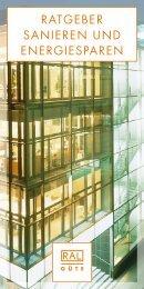 ratgeber sanieren und energiesparen - Verband der Fenster