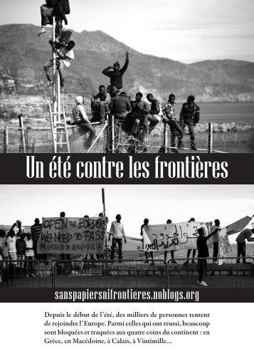 Un été contre les frontières
