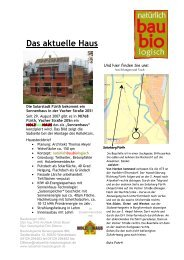 Projektbericht (PDF, 609 kB) - Sonnenhaus-Institut