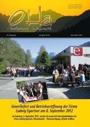 OHa Nr. 38 - November 2012