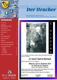 Der Uracher KW 37-2015