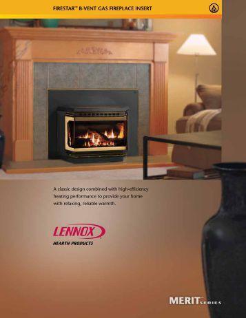 Medina Direct Vent Gas Fireplace Insert