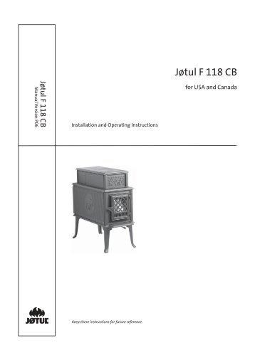 Jøtul Manual
