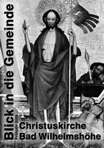 Frühjahr 2005 (PDF-Format) - Evangelische Kirche von Kurhessen ...