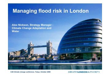 Managing flood risk in London