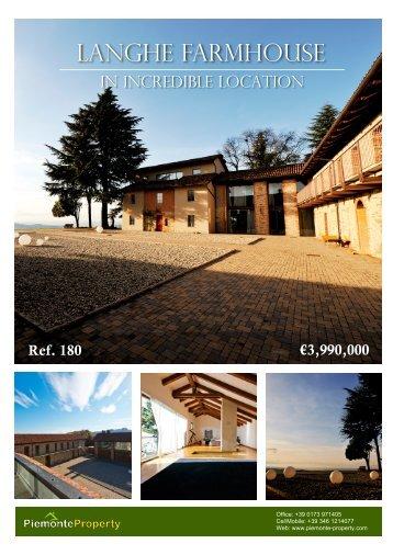 Langhe Farmhouse