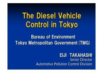 The Diesel Vehicle Control in Tokyo