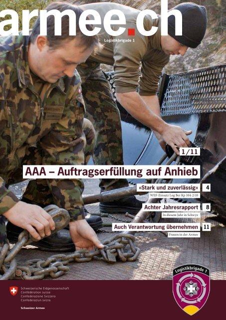 Auftragserfüllung auf Anhieb - Logistikbasis der Armee LBA - admin.ch