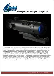 Bering Optics Avenger 3x50 gen 2+