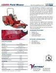 LQ450 Field Mower - Page 2