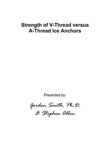 Gordon Smith Ph.D & Stephen Allen
