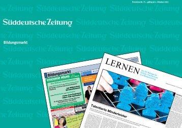 Bildungsmarkt - sz-media.de