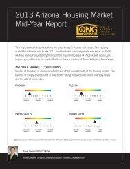2013 Arizona Housing Market Mid-Year Report