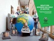 HELFT UNS KINDERN DIE WELT ZU RETTEN - Plant-for-the-Planet