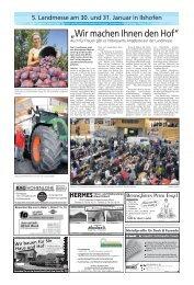 HERMESTüren- und Stallsysteme - Haller Tagblatt