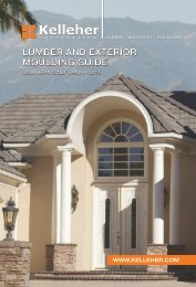 LUMBER AND EXTERIOR MOULDING GUIDE