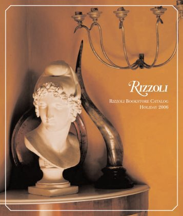 RIZZOLI BOOKSTORE CATALOG HOLIDAY 2006