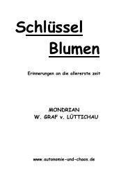 MONDRIAN W. GRAF v. LÜTTICHAU - Autonomie und Chaos