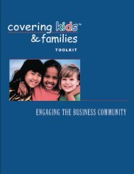 Toolkit Engaging the Business Community
