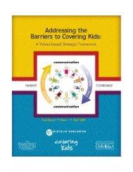 A Values-Based Strategic Framework - Covering Kids & Families