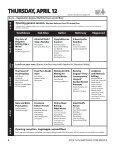 PROGRAM & SCHEDULE - Page 4