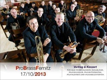 ProBrassFernitz 17/10/2013