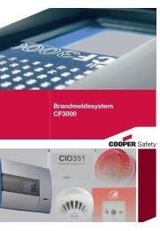 Prospekt Brandmeldesystem CF3000 - CEAG