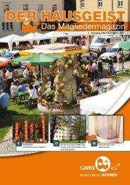 DER HAUSGEIST 14 (pdf 7 MB) - CAWG eG