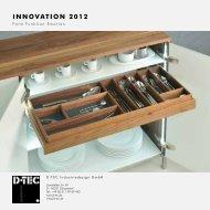INNOVATION 2012 - D-Tec