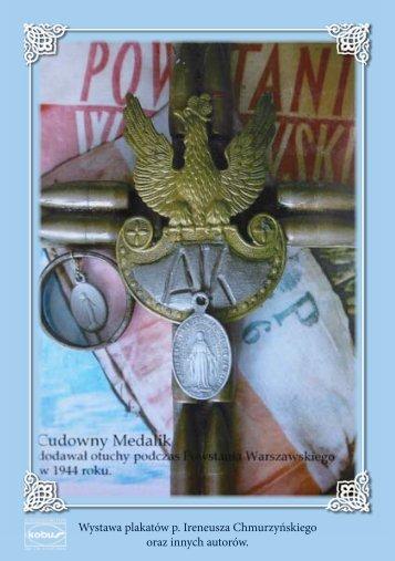 Wystawa plakatów p Ireneusza Chmurzyńskiego oraz innych autorów