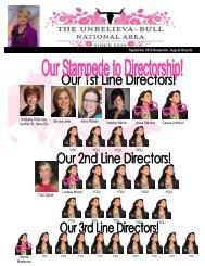 September 2012 Newsletter, August Results Kimberly ... - Darla Bull