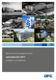Jahresbericht 2011 - DFG