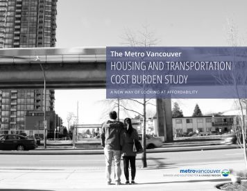 HOUSING AND TRANSPORTATION COST BURDEN STUDY