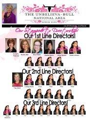 July 2012 Newsletter - Darla Bull - Court of Achievers