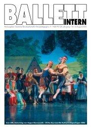 Ballett Intern 4/2005 - Deutscher Berufsverband für Tanzpädagogik