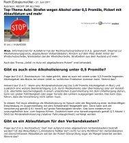 Top-Thema Auto - D.A.S. Österreichische Allgemeine Rechtsschutz