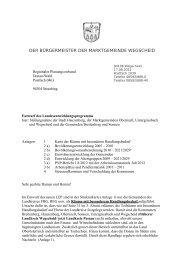 früher der gesamte Landkreis Wegscheid - CSU